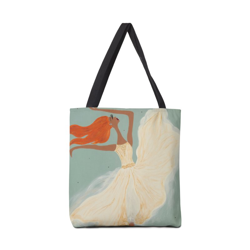 Cicely Accessories Tote Bag Bag by Bonnie Donaghy Art