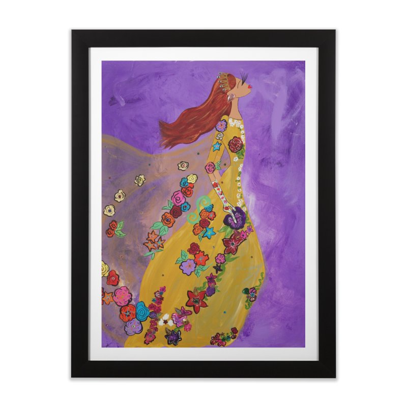 Amelie Home Framed Fine Art Print by Bonnie Donaghy Art