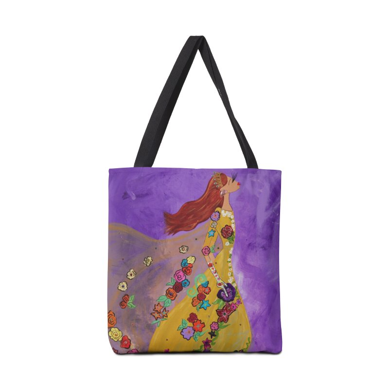 Amelie Accessories Tote Bag Bag by Bonnie Donaghy Art