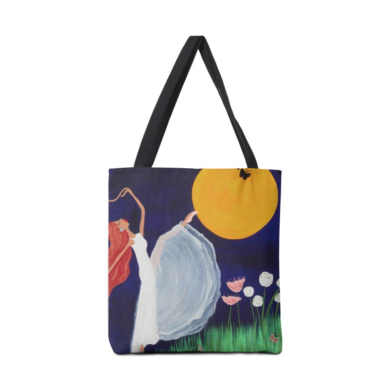Butterfly Moon Accessories Tote Bag Bag by Bonnie Donaghy Art