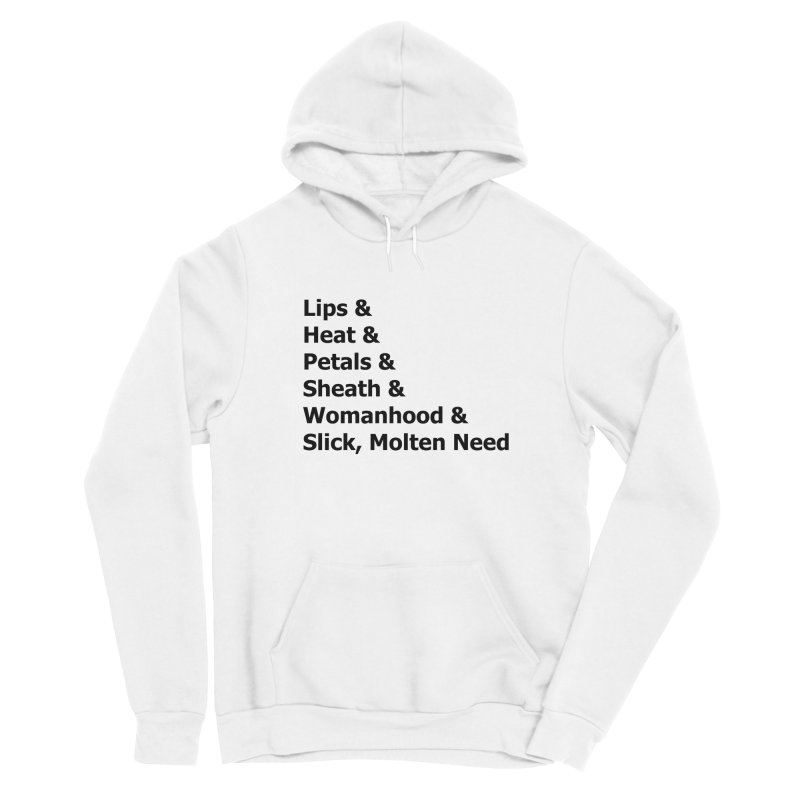 "Romance Novel ""Vagina"" Words Women's Pullover Hoody by Boobies & Noobies"