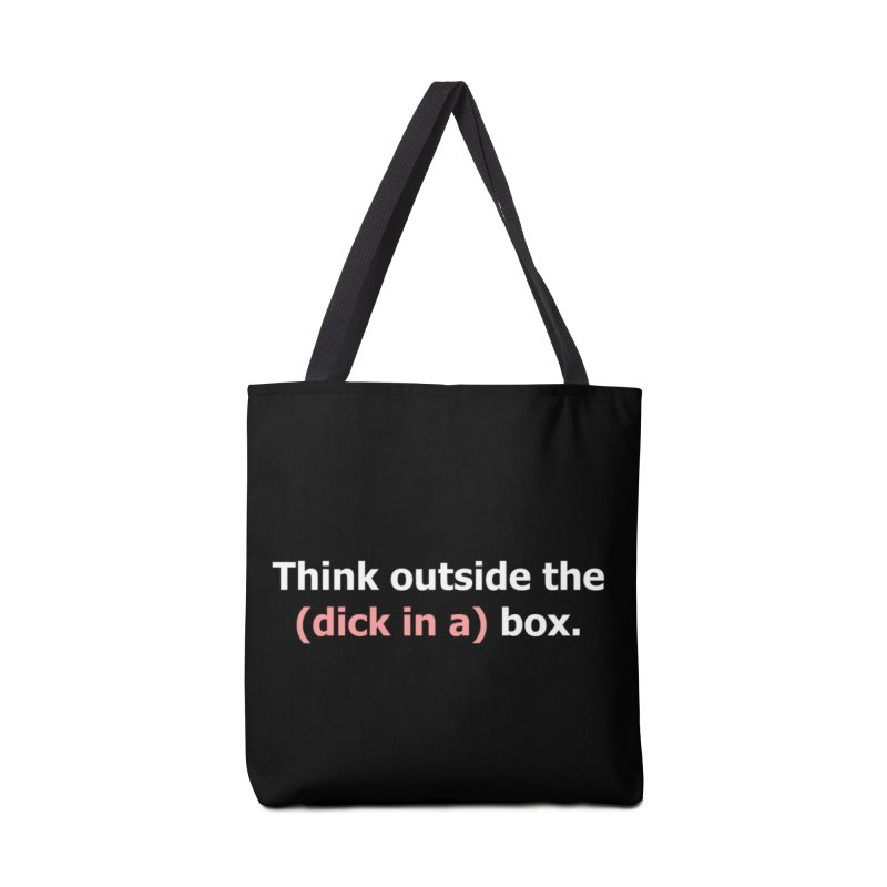 Think Outside the D*ck in a Box Accessories Bag by Boobies & Noobies