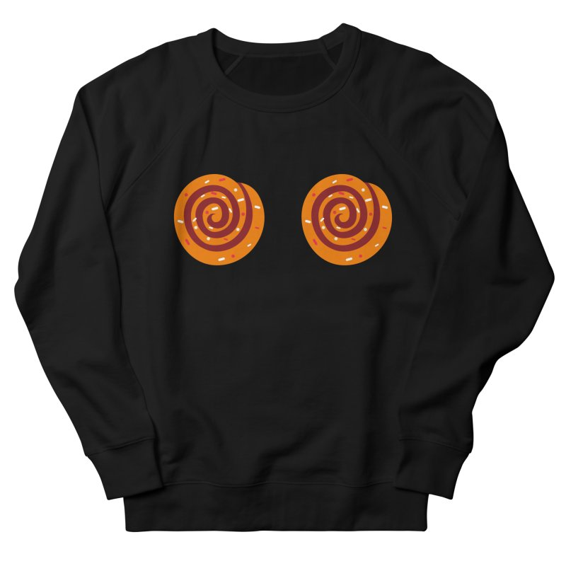 Cinnamon Roll Boobies Men's Sweatshirt by Boobies & Noobies