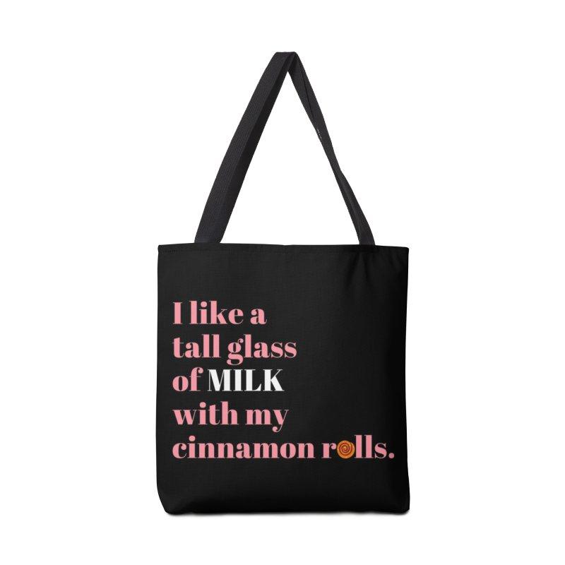 Cinnamon Rolls & Milk Accessories Bag by Boobies & Noobies