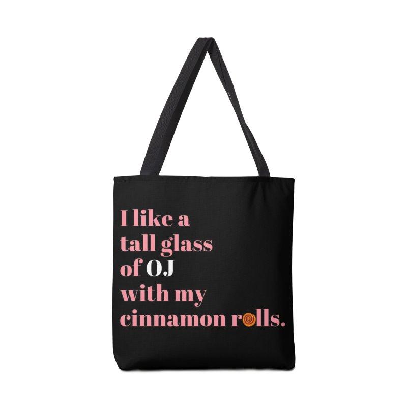 Cinnamon Rolls & OJ Accessories Bag by Boobies & Noobies