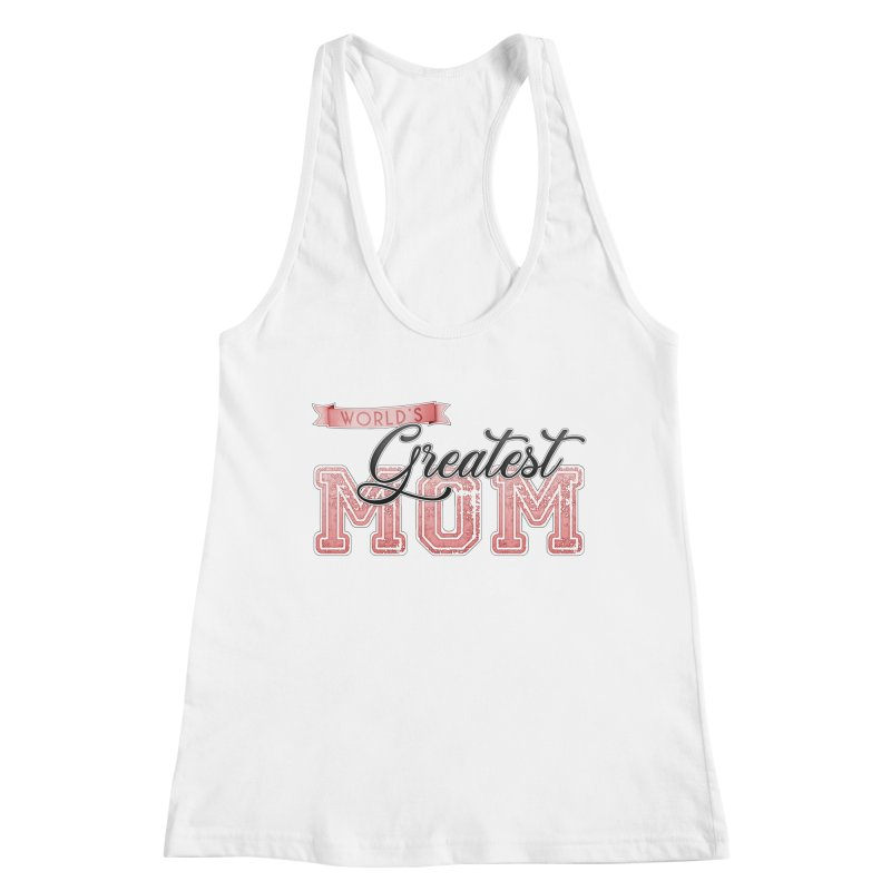 World's Greatest Mom - Pink Women's Tank by boogleloo's Shop