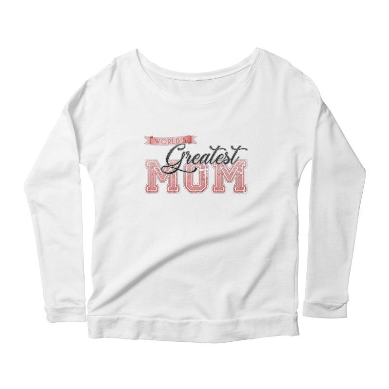 World's Greatest Mom - Pink Women's Longsleeve T-Shirt by boogleloo's Shop