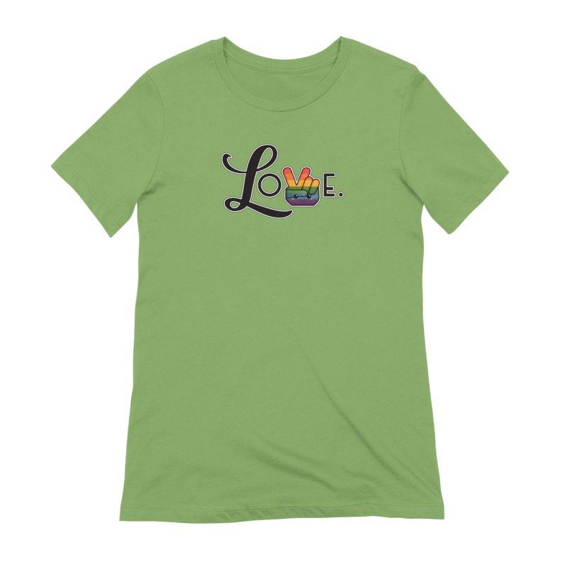 Love is Pride Women's T-Shirt by boogleloo's Shop