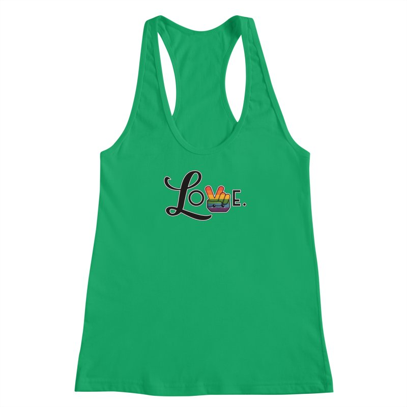 Love is Pride Women's Tank by boogleloo's Shop