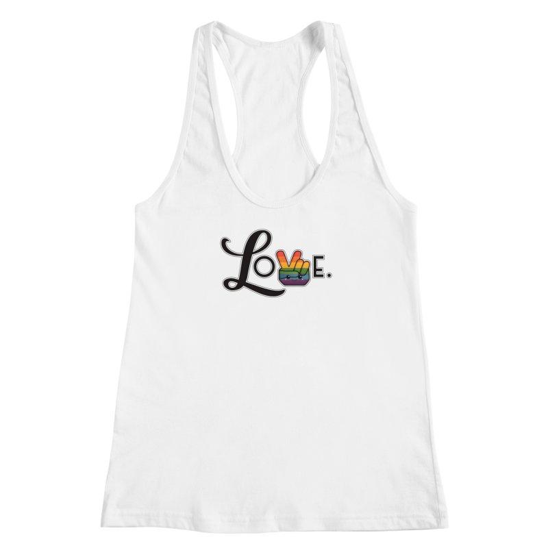 Love is Pride Women's Tank by boogleloo's Shop