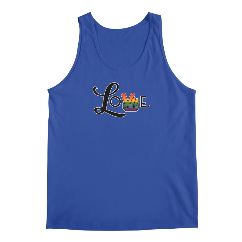 Love is Pride Men's Tank by boogleloo's Shop