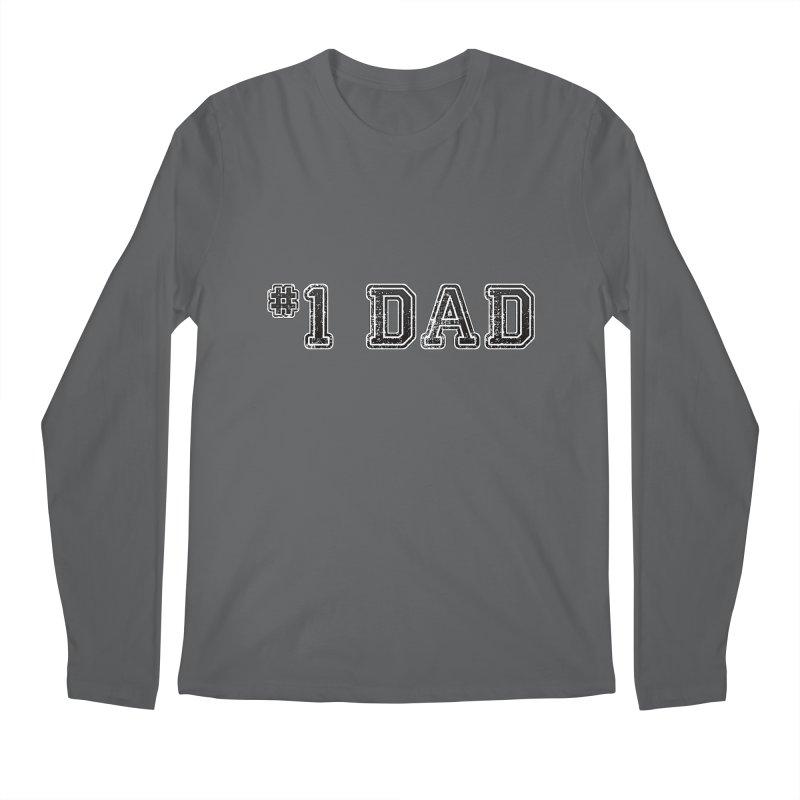 #1 DAD Men's Longsleeve T-Shirt by boogleloo's Shop