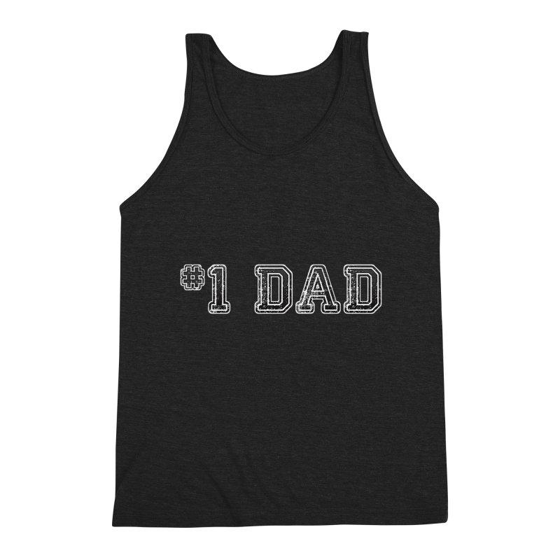 #1 DAD Men's Tank by boogleloo's Shop