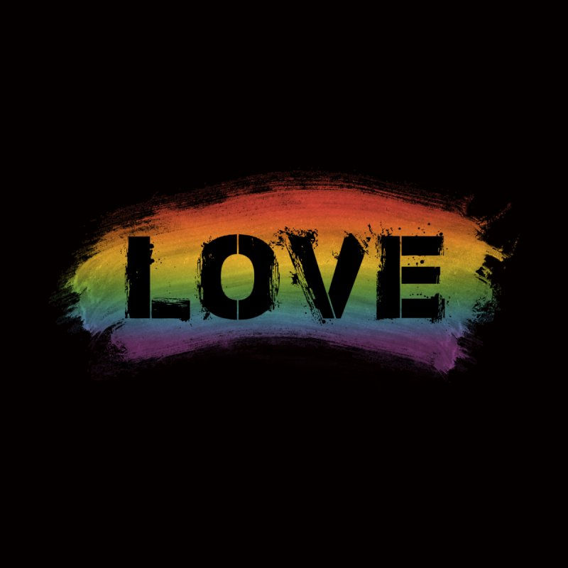 Colors of Love - Black Women's T-Shirt by boogleloo's Shop