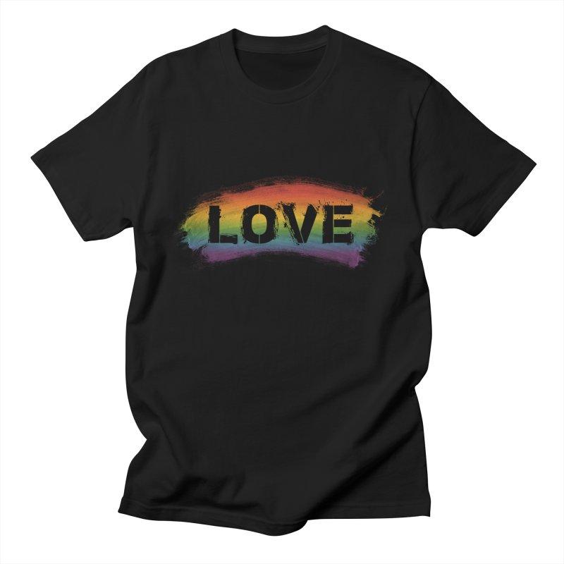 Colors of Love - Black Women's T-Shirt by boogleloo's Shop