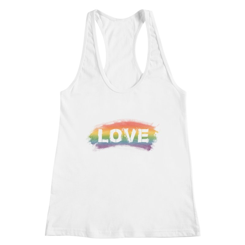 Colors of Love - White Women's Tank by boogleloo's Shop