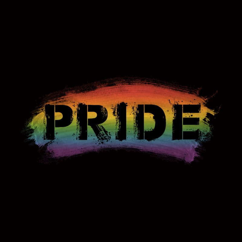 Colors of Pride - Black Men's T-Shirt by boogleloo's Shop