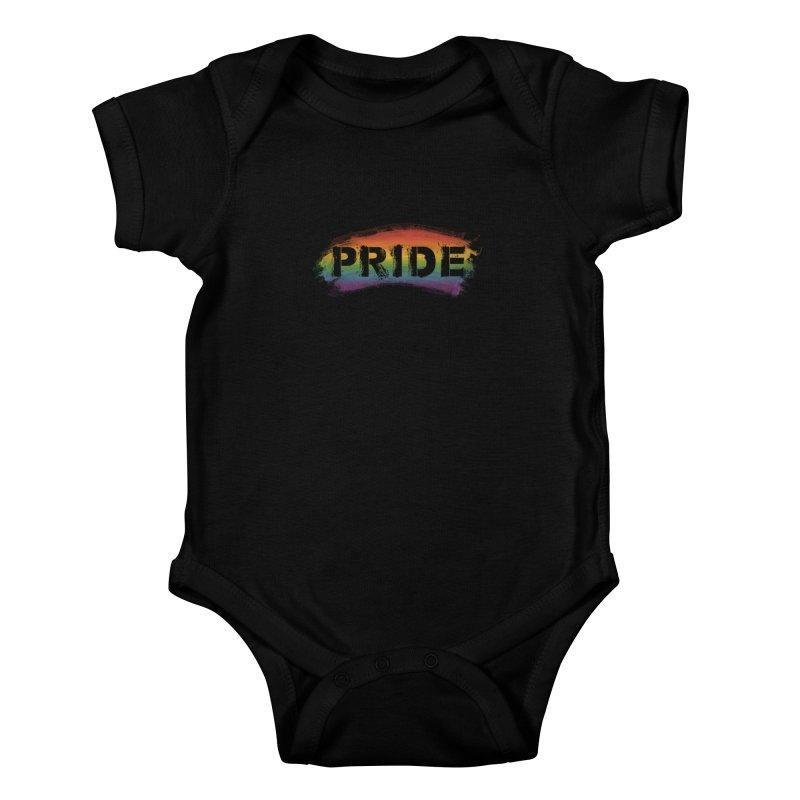 Colors of Pride - Black Kids Baby Bodysuit by boogleloo's Shop