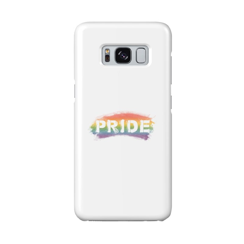 Colors of Pride - White Accessories Phone Case by boogleloo's Shop