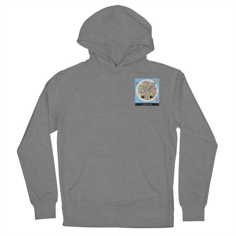 Cereal Killer Men's French Terry Pullover Hoody by boogleloo's Shop