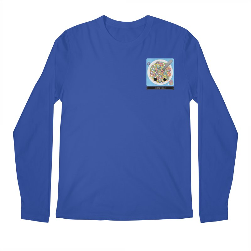 Cereal Killer Men's Longsleeve T-Shirt by boogleloo's Shop