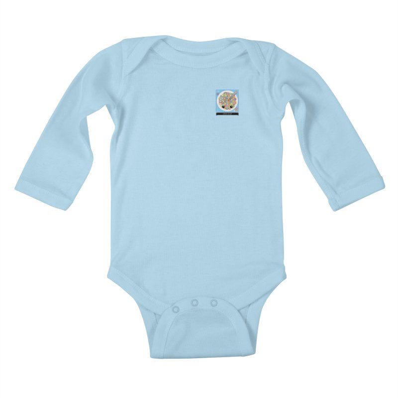Cereal Killer Kids Baby Longsleeve Bodysuit by boogleloo's Shop