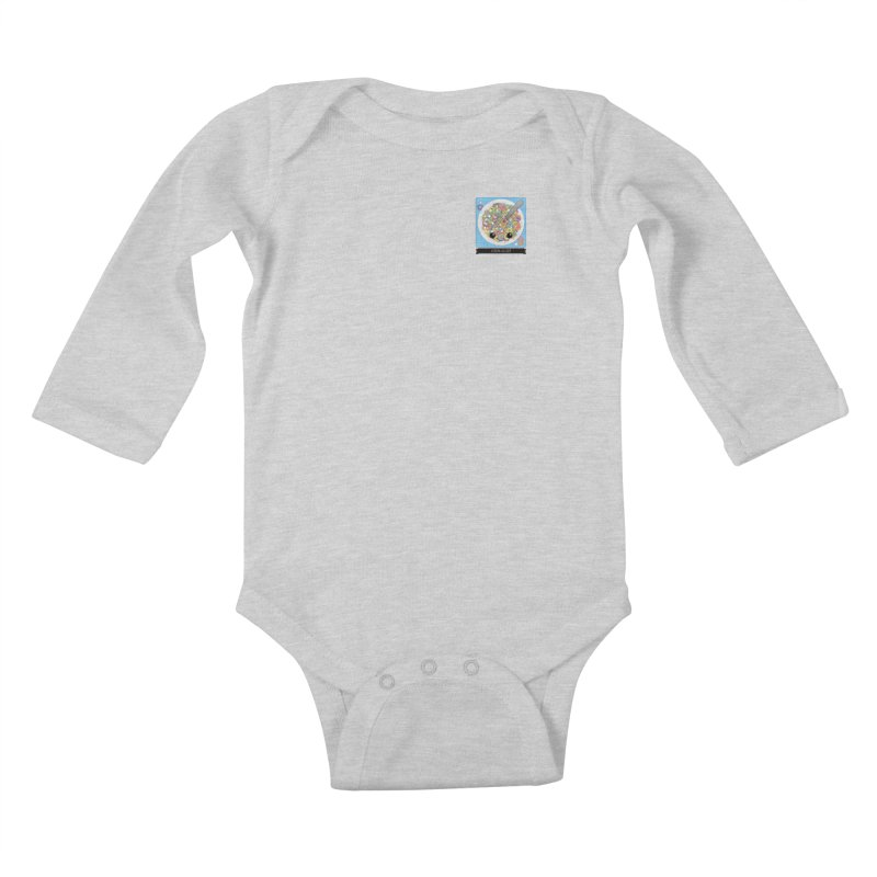 Cereal Killer Kids Baby Longsleeve Bodysuit by boogleloo's Shop