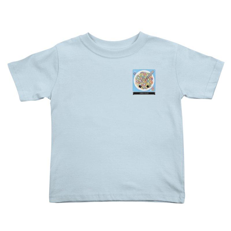Cereal Killer Kids Toddler T-Shirt by boogleloo's Shop