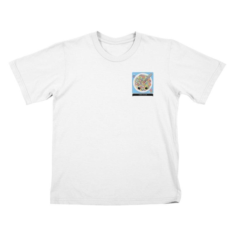 Cereal Killer Kids T-Shirt by boogleloo's Shop