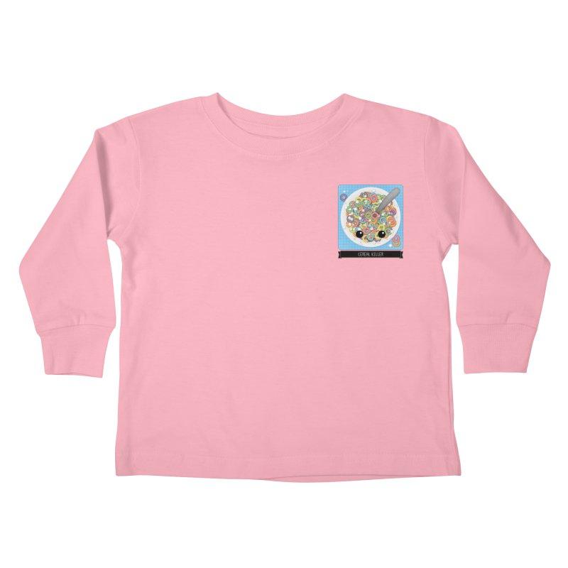 Cereal Killer Kids Toddler Longsleeve T-Shirt by boogleloo's Shop