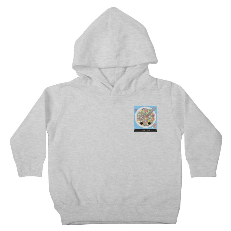 Cereal Killer Kids Toddler Pullover Hoody by boogleloo's Shop