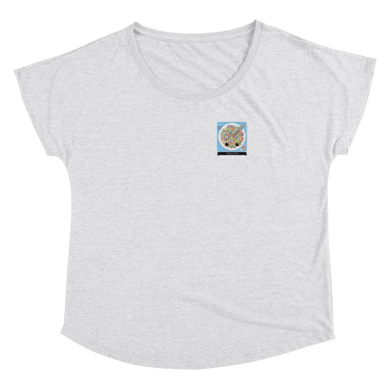 Cereal Killer Women's Dolman Scoop Neck by boogleloo's Shop