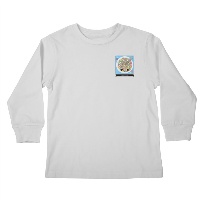 Cereal Killer Kids Longsleeve T-Shirt by boogleloo's Shop