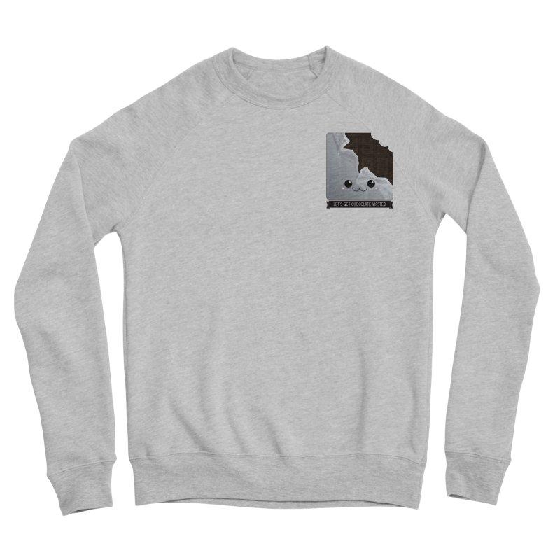Let's Get Chocolate Wasted Men's Sponge Fleece Sweatshirt by boogleloo's Shop