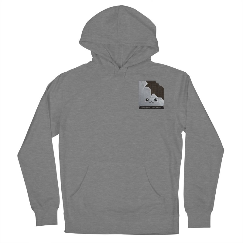 Let's Get Chocolate Wasted Men's French Terry Pullover Hoody by boogleloo's Shop