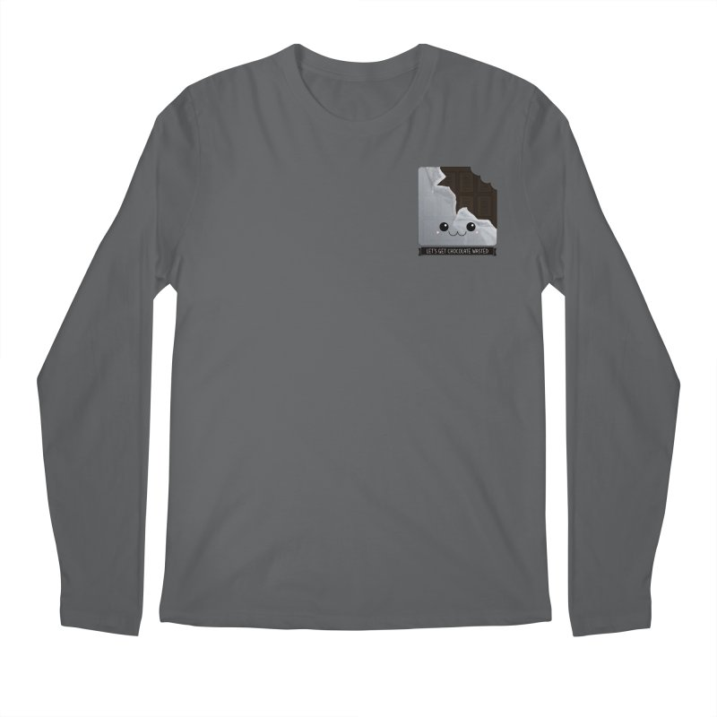 Let's Get Chocolate Wasted Men's Longsleeve T-Shirt by boogleloo's Shop
