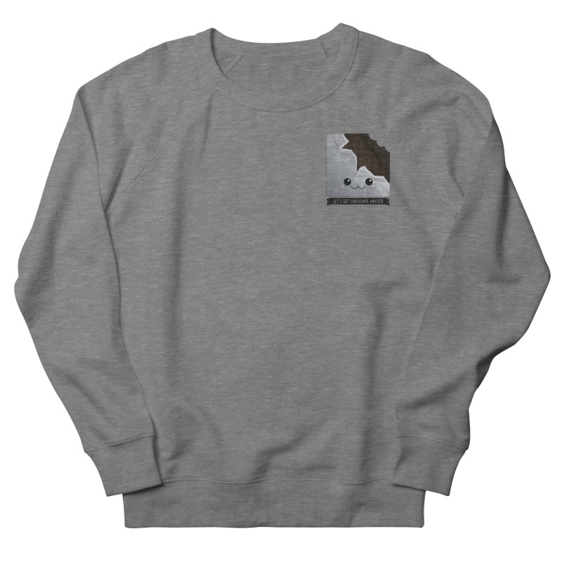 Let's Get Chocolate Wasted Men's French Terry Sweatshirt by boogleloo's Shop