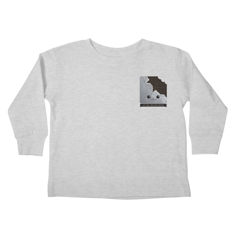 Let's Get Chocolate Wasted Kids Toddler Longsleeve T-Shirt by boogleloo's Shop