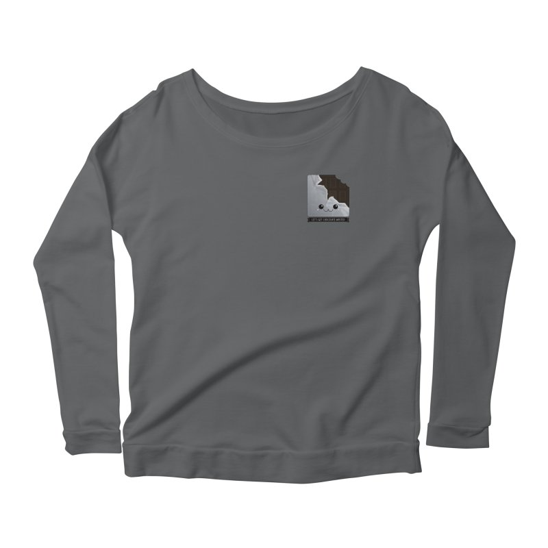 Let's Get Chocolate Wasted Women's Longsleeve T-Shirt by boogleloo's Shop