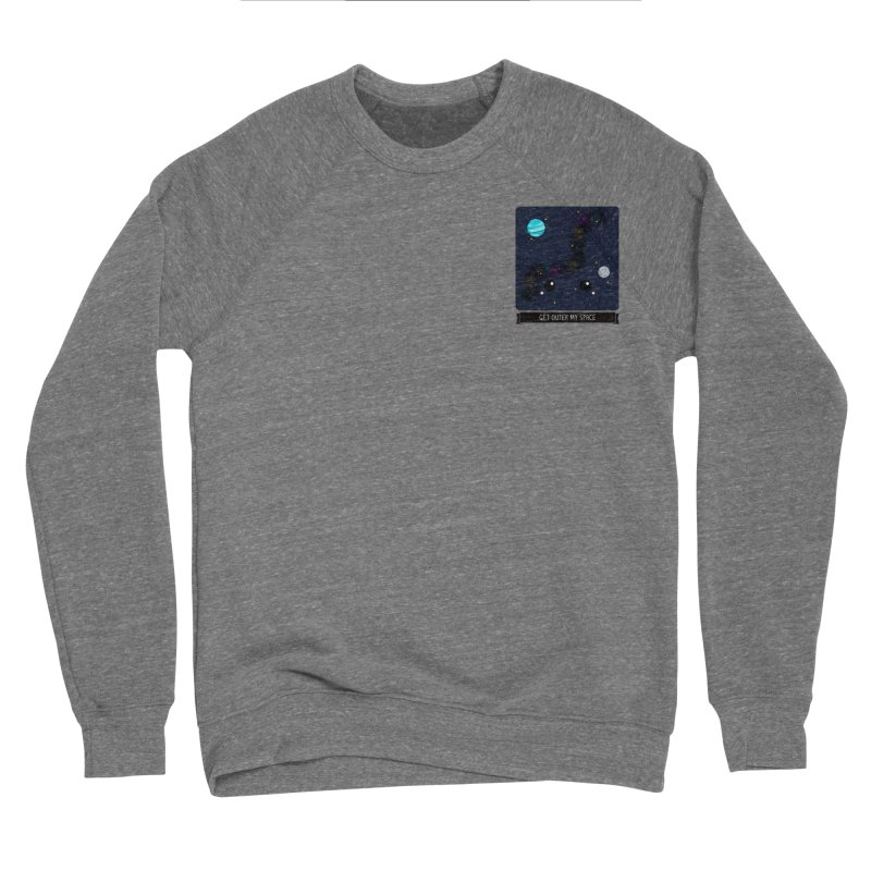 Get Outer My Space Men's Sponge Fleece Sweatshirt by boogleloo's Shop