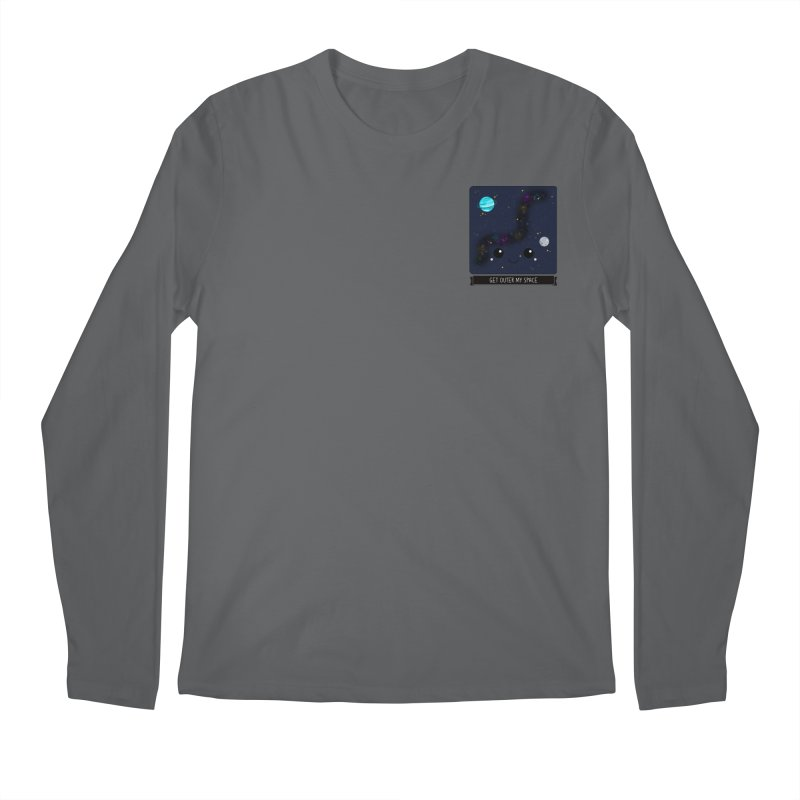 Get Outer My Space Men's Longsleeve T-Shirt by boogleloo's Shop