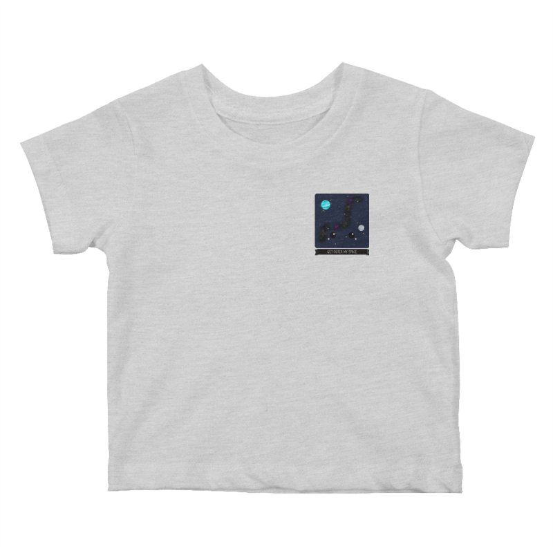 Get Outer My Space Kids Baby T-Shirt by boogleloo's Shop