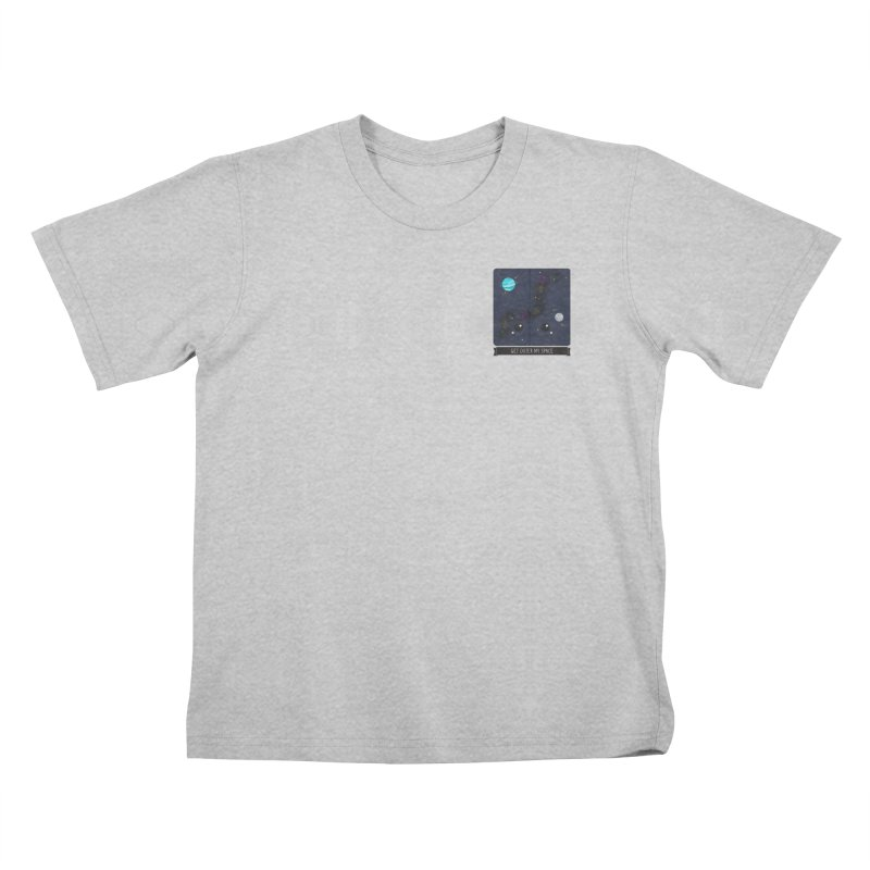 Get Outer My Space Kids T-Shirt by boogleloo's Shop