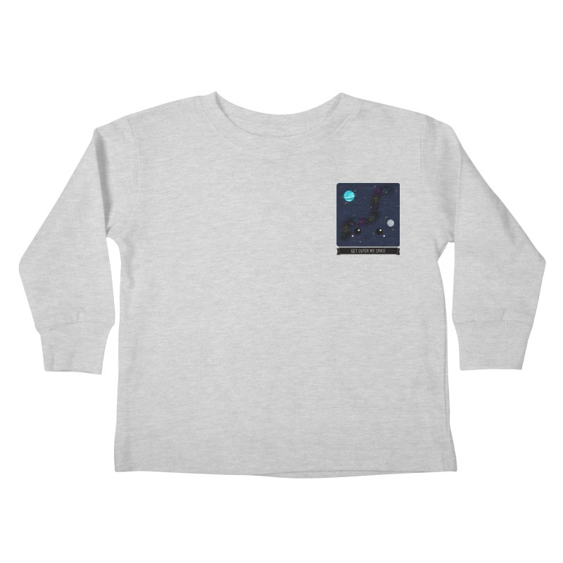 Get Outer My Space Kids Toddler Longsleeve T-Shirt by boogleloo's Shop
