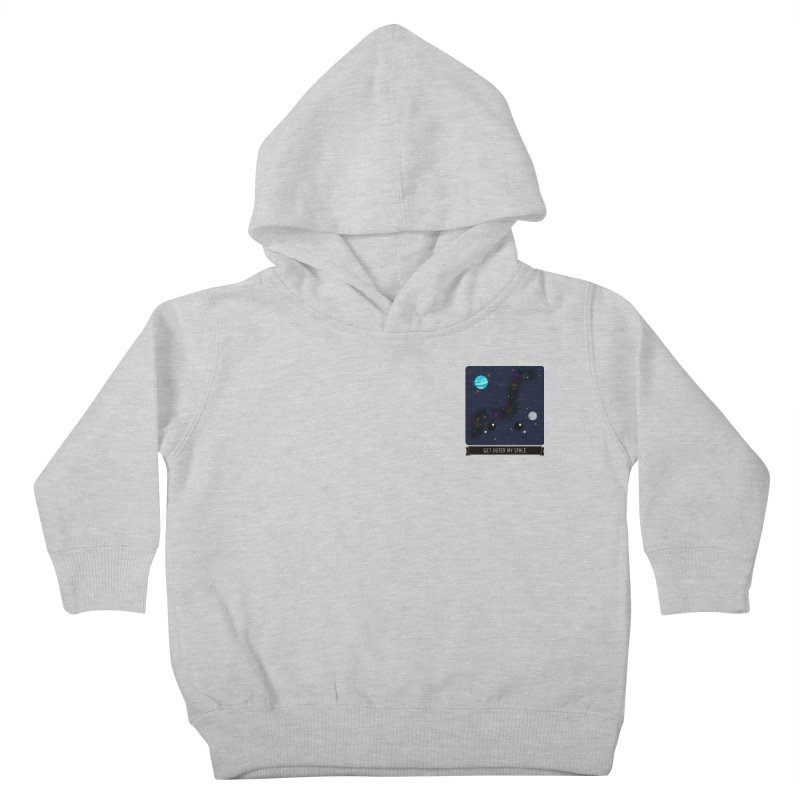 Get Outer My Space Kids Toddler Pullover Hoody by boogleloo's Shop