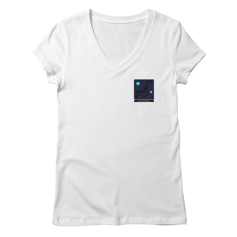 Get Outer My Space Women's V-Neck by boogleloo's Shop