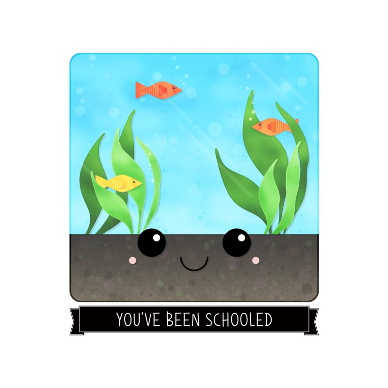 You've Been Schooled Accessories Sticker by boogleloo's Shop