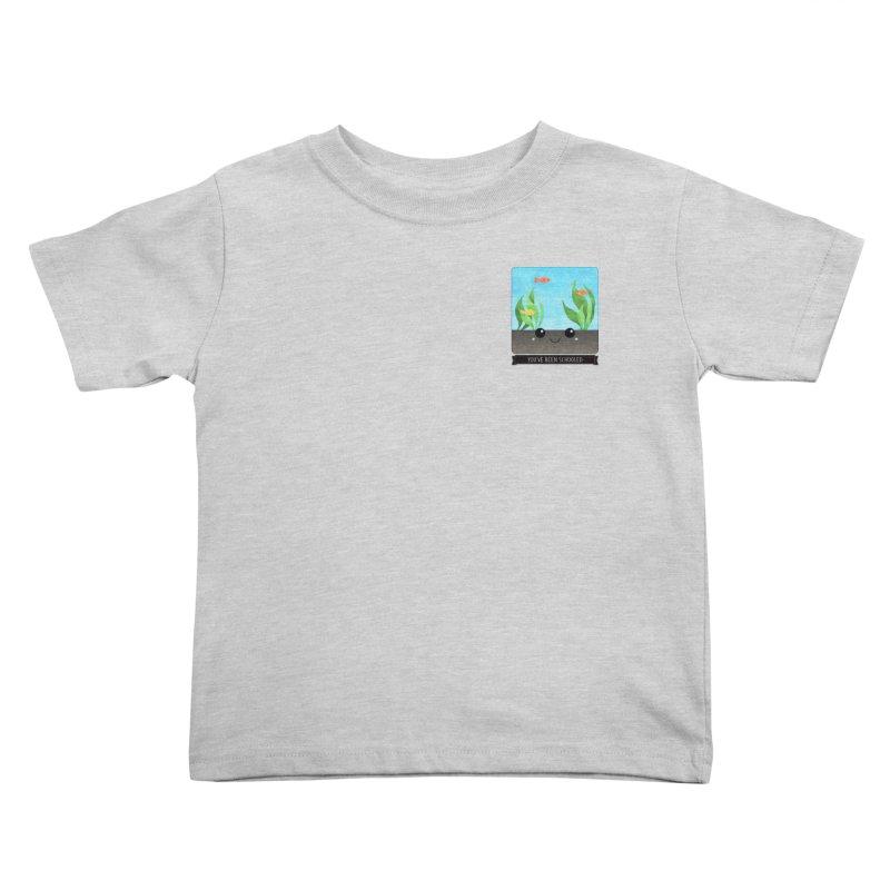 You've Been Schooled Kids Toddler T-Shirt by boogleloo's Shop