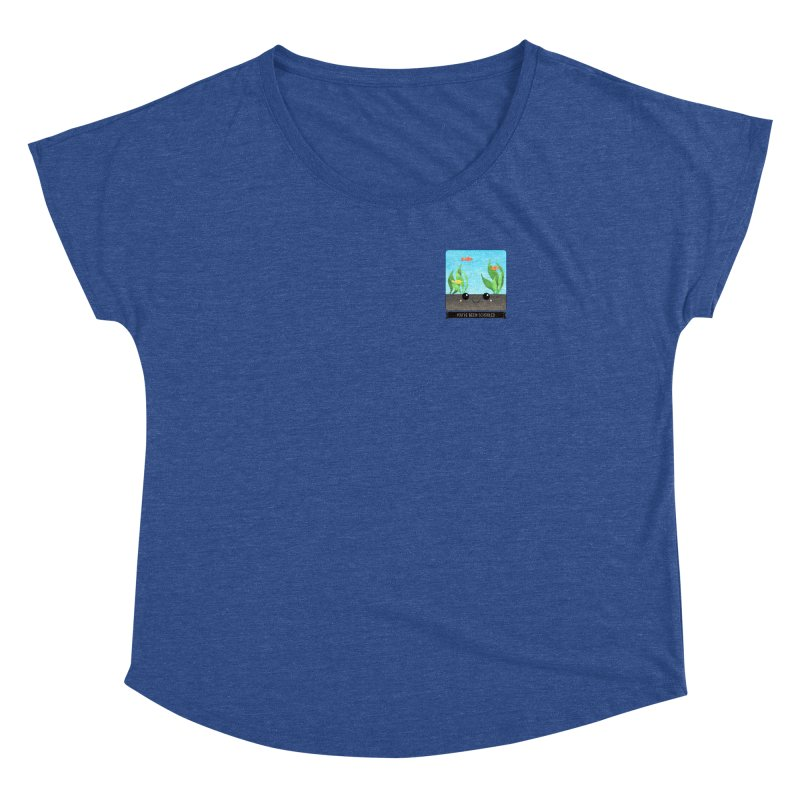 You've Been Schooled Women's Dolman Scoop Neck by boogleloo's Shop
