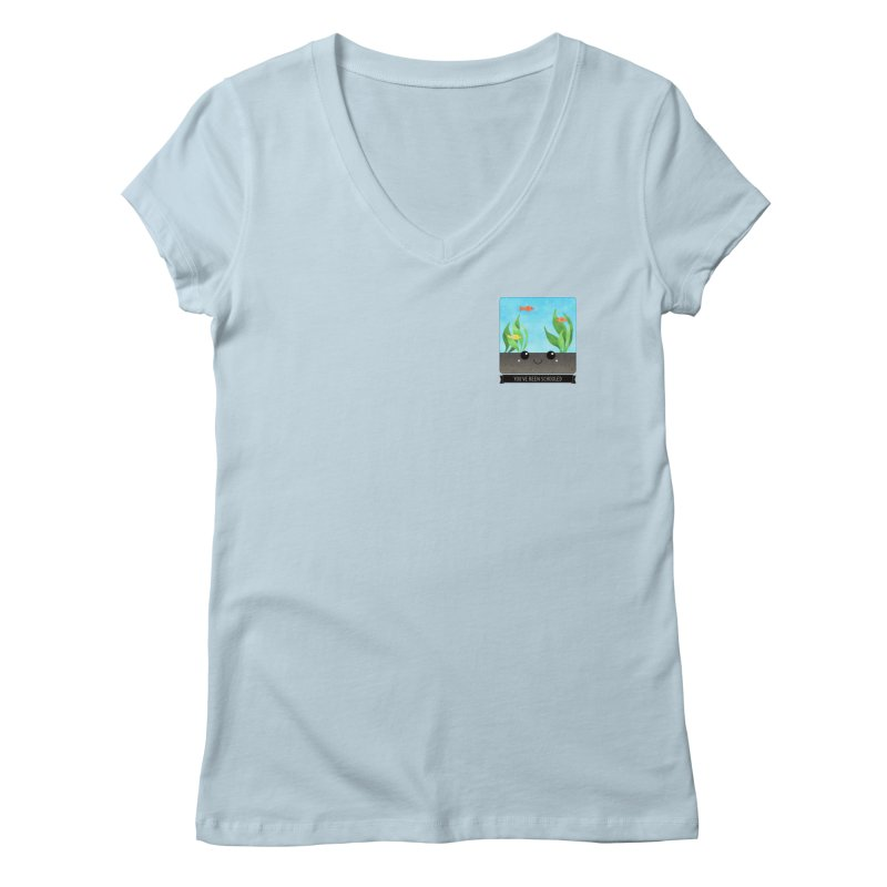 You've Been Schooled Women's V-Neck by boogleloo's Shop